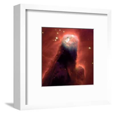 NASA - The Cone Nebula NGC 2264--Framed Art Print