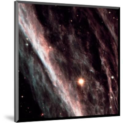 NASA - Exploded Star NGC 2736--Mounted Art Print