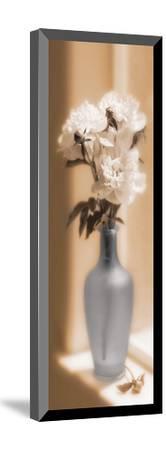 Peonies In A Blue Vase-Christine Zalewski-Mounted Art Print