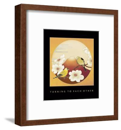 Turning To Each Other 1-Sybil Shane-Framed Art Print