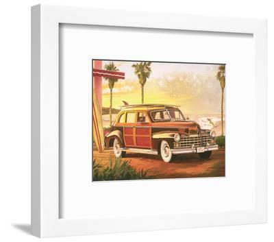 Surfin Crazy-Graham Reynolds-Framed Art Print