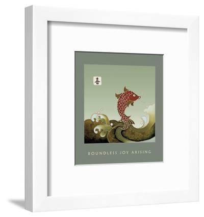 Boundless Joy Arising 1-Sybil Shane-Framed Art Print