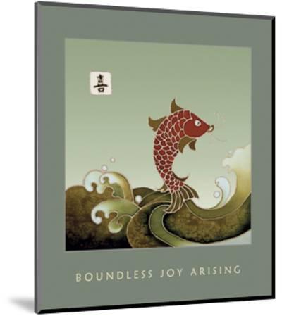 Boundless Joy Arising 1-Sybil Shane-Mounted Art Print