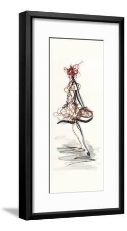 Catwalk Glamour II-Lou Lacroix-Framed Art Print