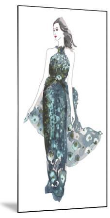 A La Mode II-Sandra Jacobs-Mounted Art Print