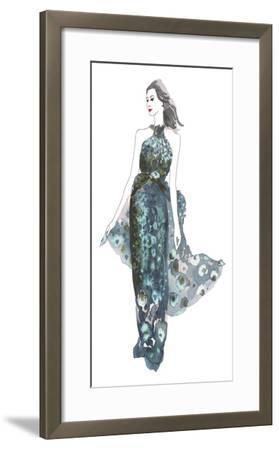 A La Mode II-Sandra Jacobs-Framed Art Print