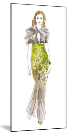 A La Mode III-Sandra Jacobs-Mounted Art Print