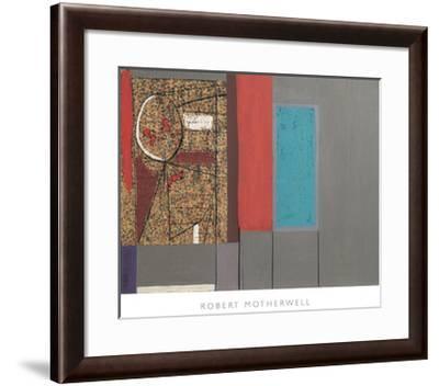 La Resistance, 1945-Robert Motherwell-Framed Art Print