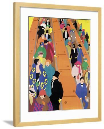 Brightest London is Best Reached by Underground, 1924-Horace Taylor-Framed Giclee Print