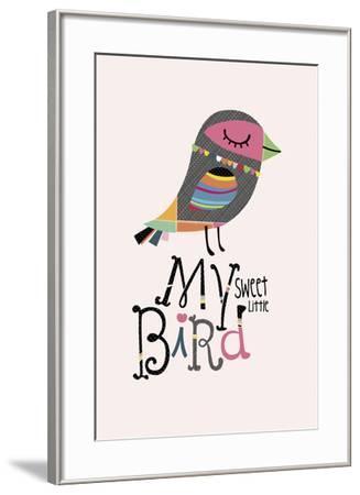 My Sweet Little Bird-Sophie Ledesma-Framed Giclee Print