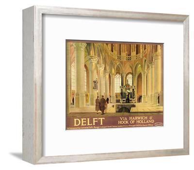 Delft-Anton van Anrooy-Framed Art Print