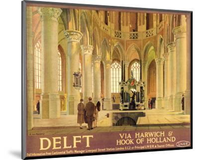 Delft-Anton van Anrooy-Mounted Art Print