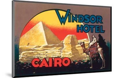 Windsor Hotel, Cairo--Mounted Art Print