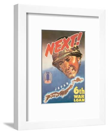 Next! Japan, 1944--Framed Art Print