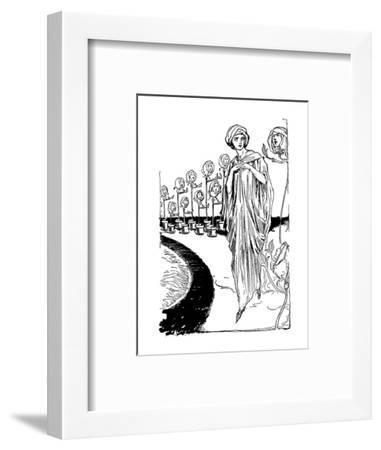 Tik-Tok of Oz-John R^ Neill-Framed Art Print