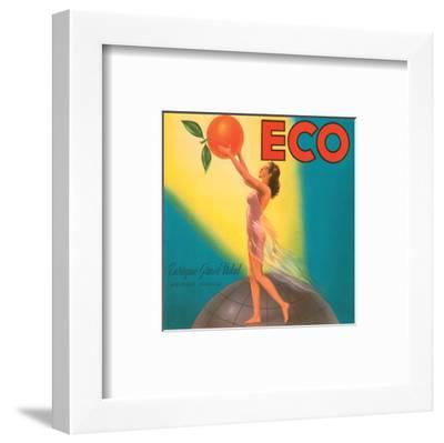 ECO Enrique Giner Vidal Oranges--Framed Art Print