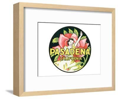 Pasadena, California--Framed Art Print