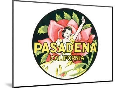 Pasadena, California--Mounted Art Print