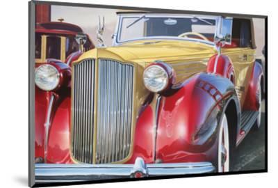 1938 Packard Phaeton Body, San Francisco-Graham Reynolds-Mounted Art Print