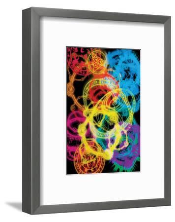 The Arcane Circles I--Framed Art Print