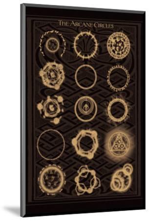 The Arcane Circles II--Mounted Art Print