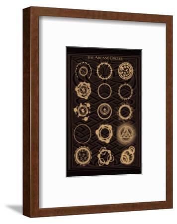The Arcane Circles II--Framed Art Print