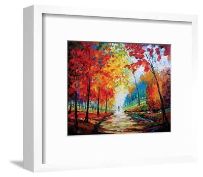Autumn Impressions-Maya Green-Framed Art Print