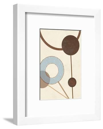 Sandy Improvisation No. 1-George Wassily-Framed Art Print
