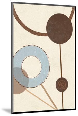 Sandy Improvisation No. 1-George Wassily-Mounted Art Print