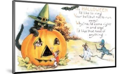It's Halloween--Mounted Art Print