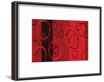 Bubble Study and Stripes I-Franz Kandiny-Framed Art Print