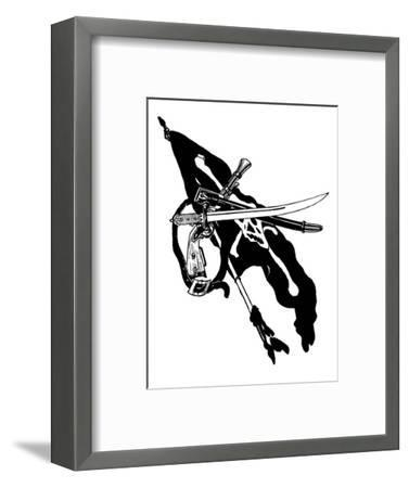 Pirate Arms, The Boys Book of Pirates-George Alfred Williams-Framed Art Print