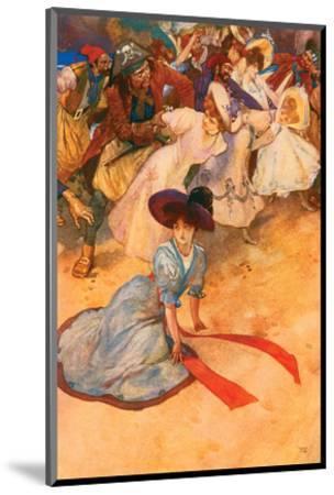 Too Late! Ha! Ha!-George Alfred Williams-Mounted Art Print