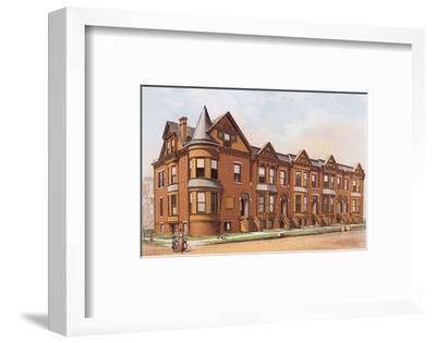 Victorian House, No. 17--Framed Art Print