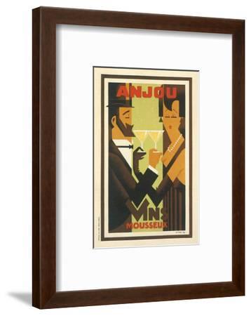 Anjou Vins Mousseux--Framed Art Print