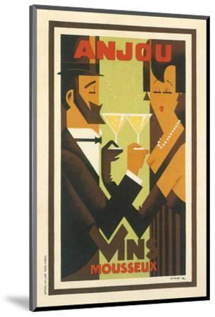 Anjou Vins Mousseux--Mounted Art Print