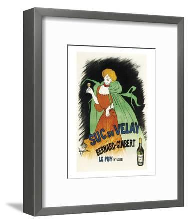 Suc du Velay-Leonetto Cappiello-Framed Art Print