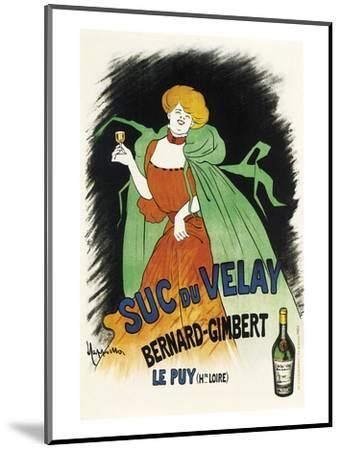 Suc du Velay-Leonetto Cappiello-Mounted Art Print