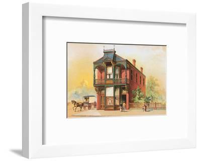 Victorian House, No. 16--Framed Art Print