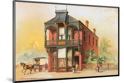 Victorian House, No. 16--Mounted Art Print