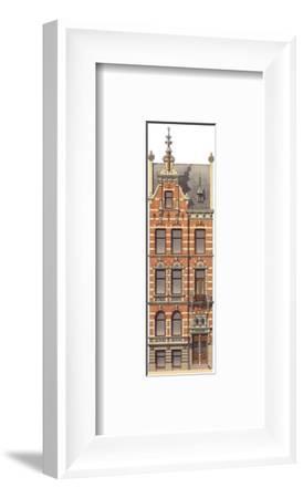 Victorian House 2--Framed Art Print