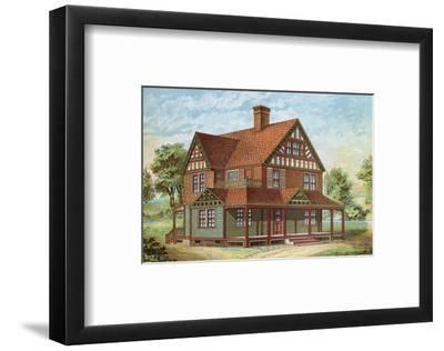 Victorian House, No. 18--Framed Art Print