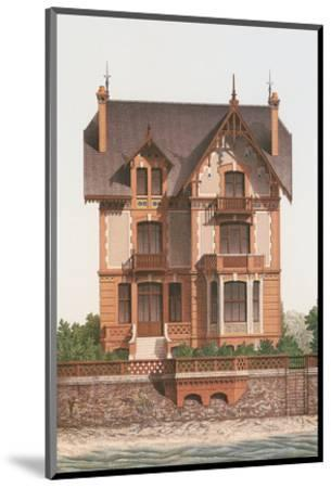 Victorian House, No. 5--Mounted Art Print