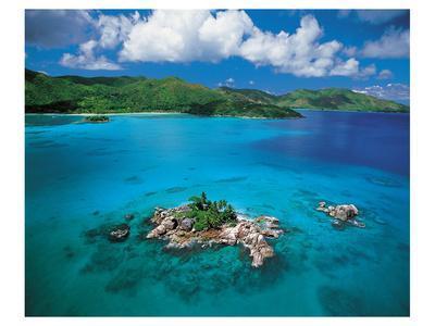 Seychelles--Framed Art Print