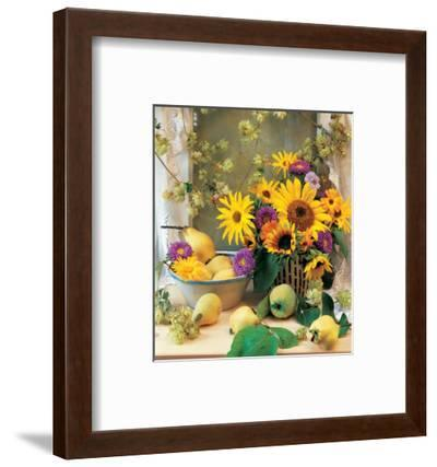 Country Bouquet--Framed Art Print