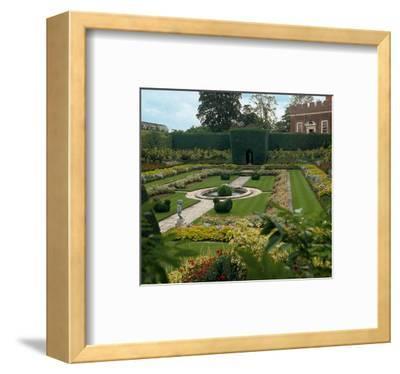 Somptuous Garden VII--Framed Art Print