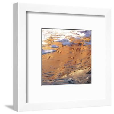Desert Mirage--Framed Art Print