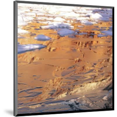 Desert Mirage--Mounted Art Print