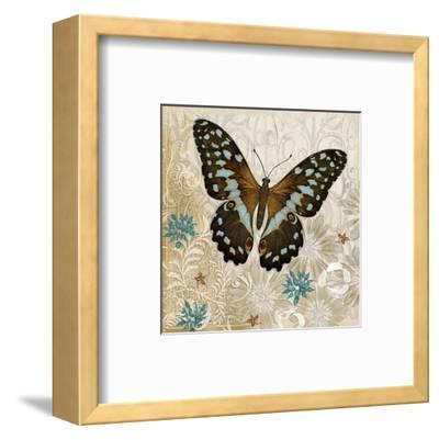 Brown Butterfly-Alan Hopfensperger-Framed Art Print