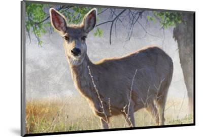 Spring Doe-Chris Vest-Mounted Art Print